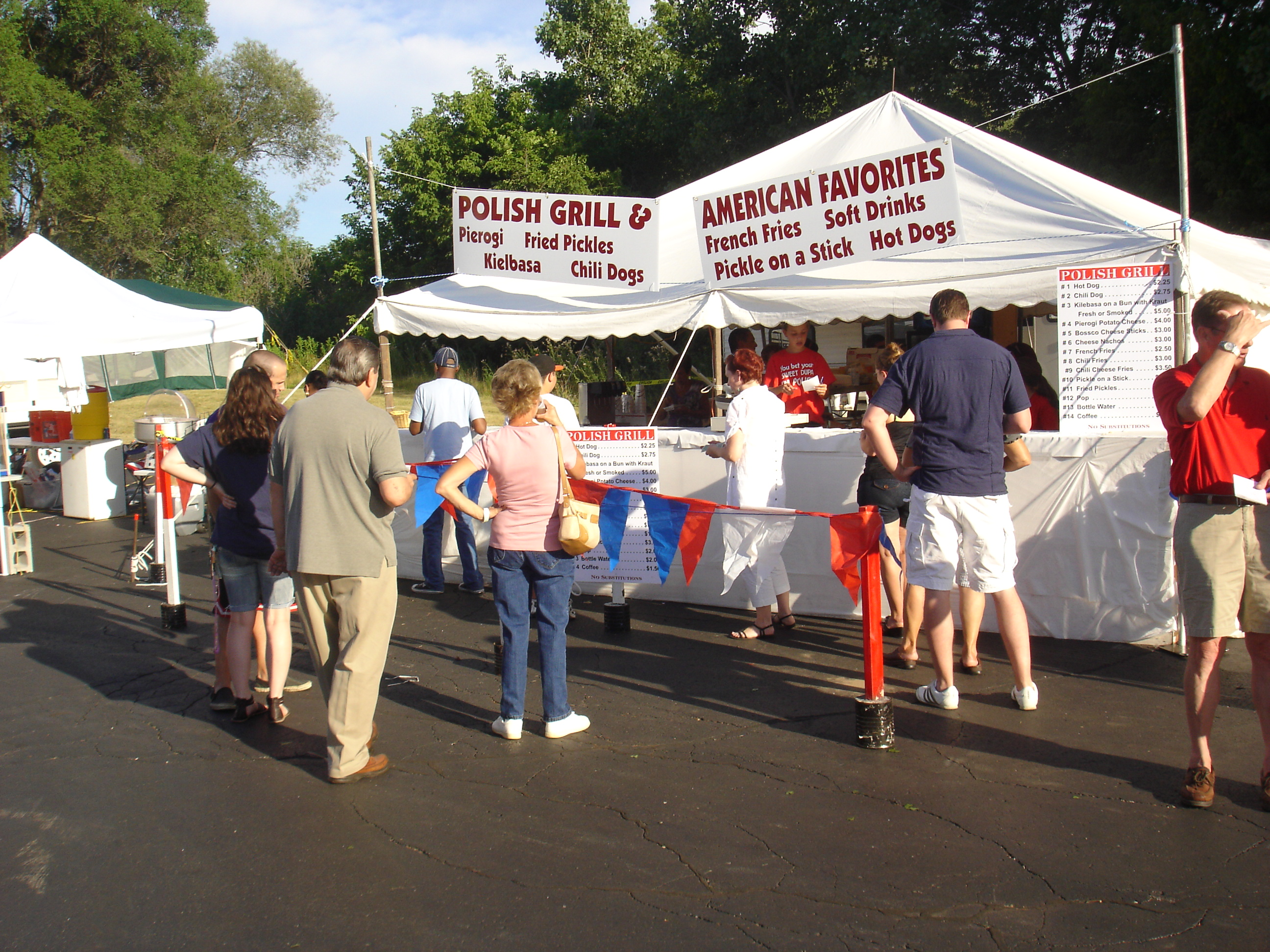 2010 Food Booth