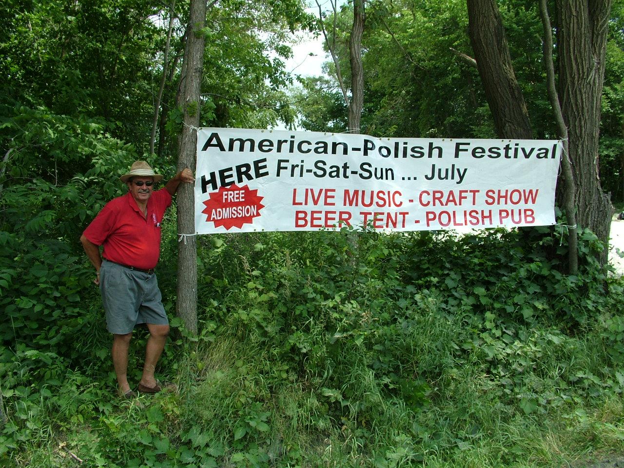 2010 Festival Sign